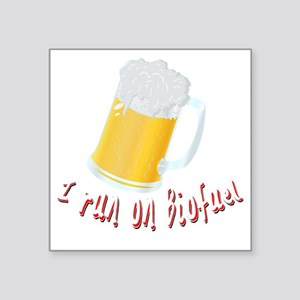 """beer Square Sticker 3"""" x 3"""""""