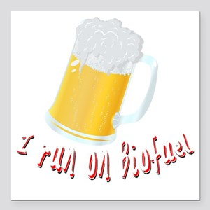 "beer Square Car Magnet 3"" x 3"""