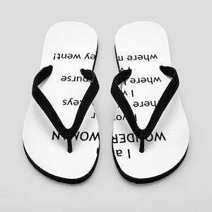 wonderwoman2 Flip Flops