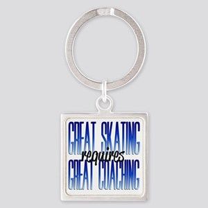 greatcoaching Square Keychain