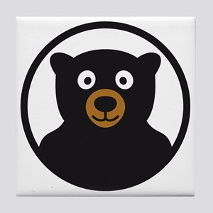 Bear B 04_2012 2c Tile Coaster