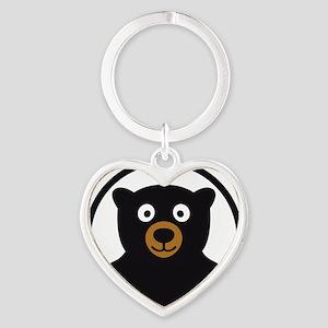 Bear B 04_2012 2c Heart Keychain