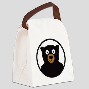 Bear B 04_2012 2c Canvas Lunch Bag