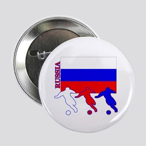 "Russia Soccer 2.25"" Button (10 pack)"