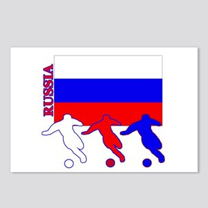 Russia Soccer Postcards (Package of 8)