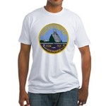 USS OLYMPIA Fitted T-Shirt
