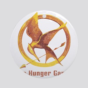 The Hunger Games Orange 2 Round Ornament