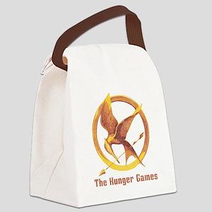 The Hunger Games Orange 2 Canvas Lunch Bag