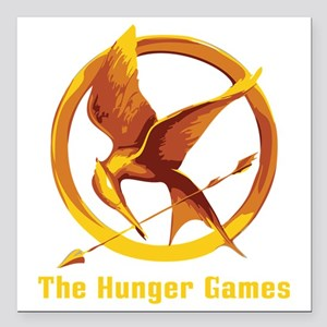 """The Hunger Games 2 Square Car Magnet 3"""" x 3"""""""