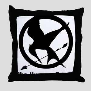 The Hunger Games 3 Throw Pillow