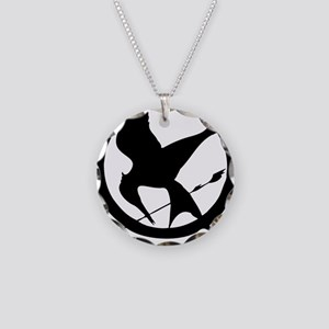 The Hunger Games 3 Necklace Circle Charm