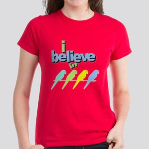 I believe in birds Women's Dark T-Shirt