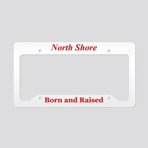 North Shore License Plate Holder