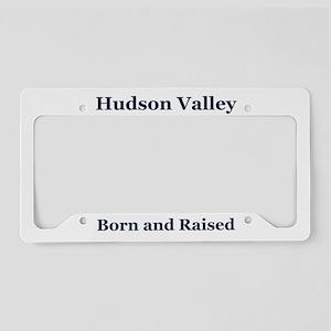 Hudson Valley Frame License Plate Holder