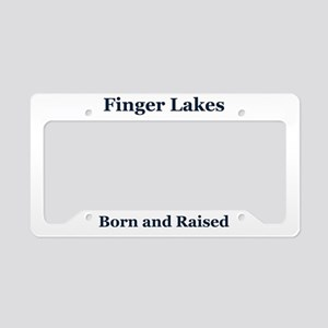 Finger Lakes Frame License Plate Holder