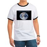 Earth Day Earthrise Ringer T