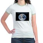Earth Day Earthrise Jr. Ringer T-Shirt