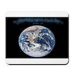 Earth Day Earthrise Mousepad