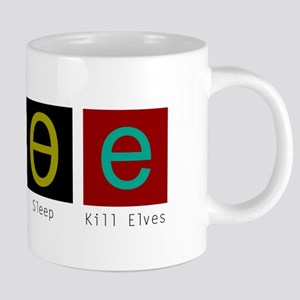 Eat, Sleep, Kill Elves Mugs