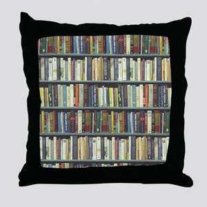 Bookshelf7100 Throw Pillow