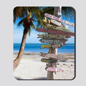 KeyWestSign7100 Mousepad