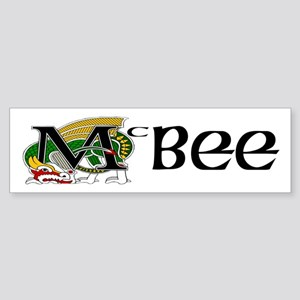 McBee Celtic Dragon Sticker (Bumper)