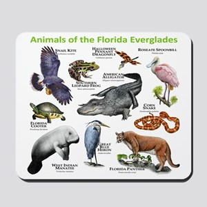 Animals of the Florida Everglades Mousepad