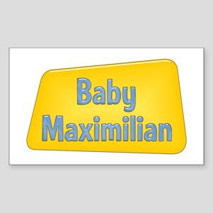 Baby Maximilian Rectangle Sticker
