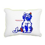 Funny Hello Meoow Rectangular Canvas Pillow