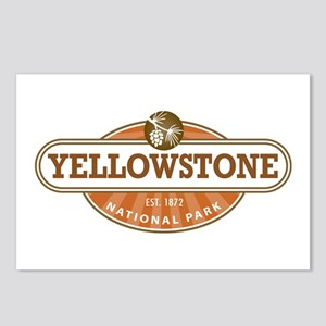 Yellowstone National Park Postcards (Package of 8)