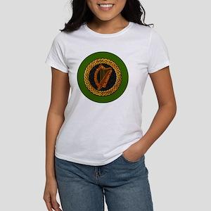 CELTIC-HARP-3-INCH-BUTTON Women's T-Shirt