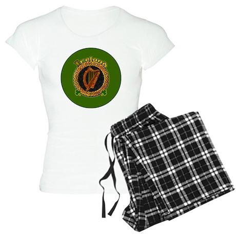 CELTIC-IRELAND-3-INCH-BUTTO Women's Light Pajamas