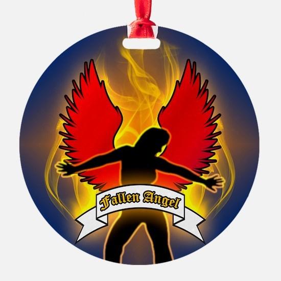 FALLEN-ANGEL-3-INCH-BUTTON Ornament