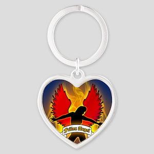 FALLEN-ANGEL-3-INCH-BUTTON Heart Keychain
