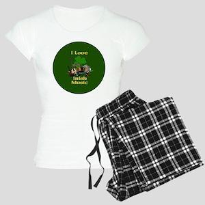 irish-music-3-in-button Women's Light Pajamas