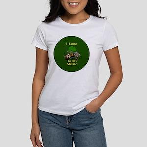 irish-music-3-in-button Women's T-Shirt