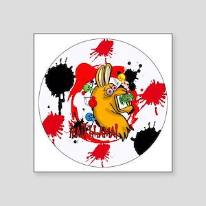 """MAD-LLAMA-3-INCH-BUTTON Square Sticker 3"""" x 3"""""""