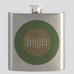 irish-celtic-3-in-button Flask