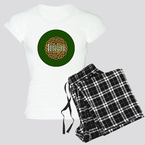 irish-celtic-3-in-button Women's Light Pajamas
