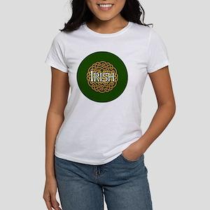 irish-celtic-3-in-button Women's T-Shirt