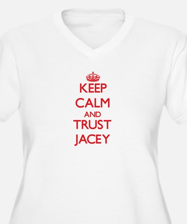 Keep Calm and TRUST Jacey Plus Size T-Shirt
