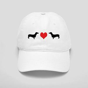 Dachshunds & Heart Cap