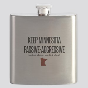 Keep Minnesota Passive-Aggresive Flask