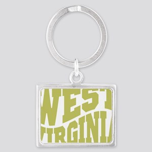 West Virginia Landscape Keychain