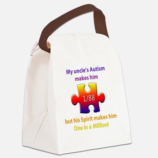 1inMillionlight-uncle-new Canvas Lunch Bag
