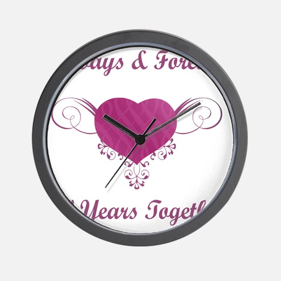 30th Anniversary Heart Wall Clock