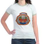 USS HONOLULU Jr. Ringer T-Shirt