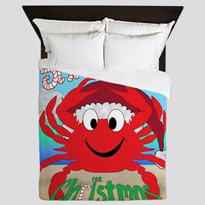 Santa Claws Queen Duvet