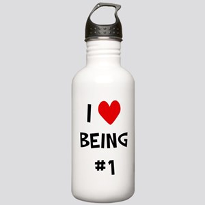 I love being #1 Stainless Water Bottle 1.0L