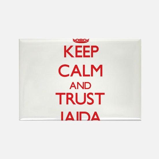 Keep Calm and TRUST Jaida Magnets